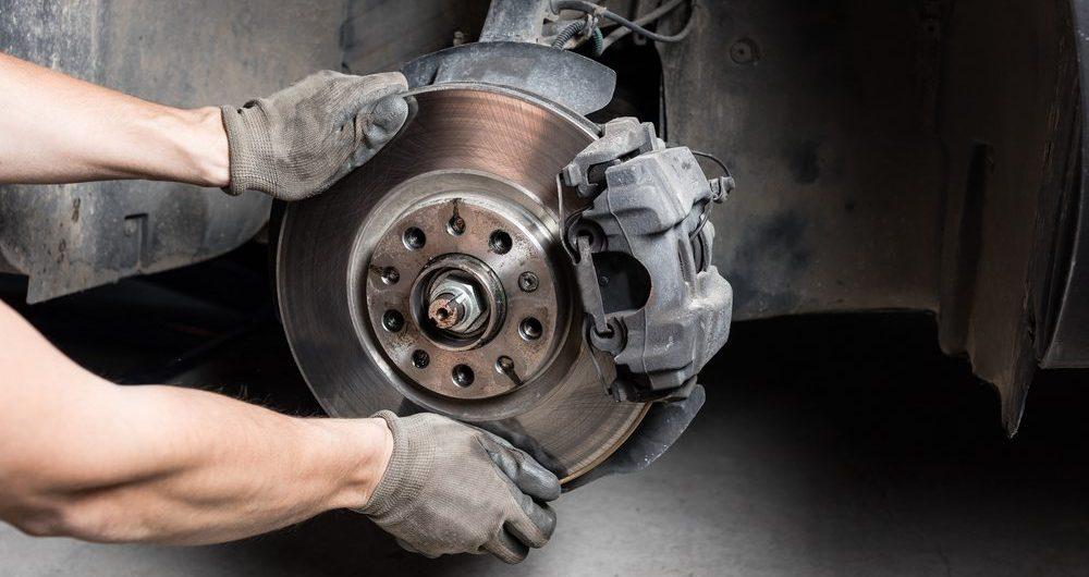 replacing brakes and rotor